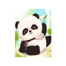 Картина по номерам «Игрушечная панда»