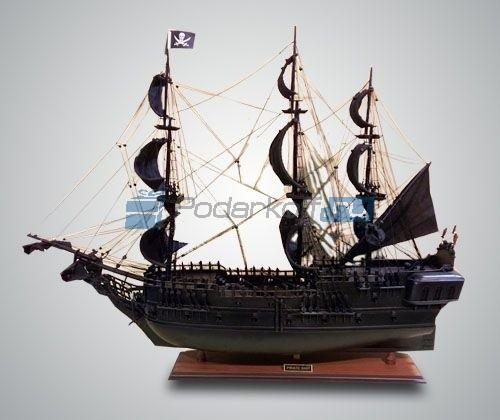 Статуэтка Парусник Black Pearl Pirate Ship (80 см)