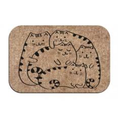 Придверный коврик Коты Отдыхают