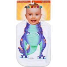Слюнявчик Динозаврик