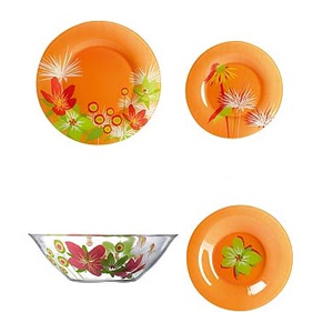 Сервиз Pop Flowers Orange