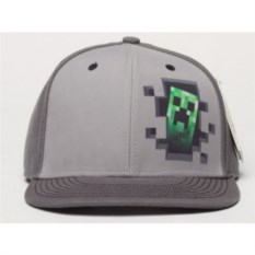 Снепбэк зеленого крипера в стиле Майнкрафт