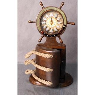 Часы - ключница Штурвал