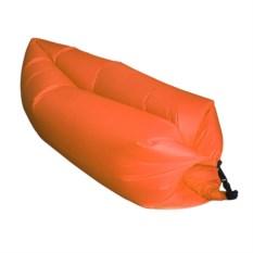 Надувной диван Lamzac Ламзак оранжевого цвета