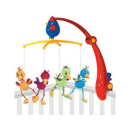 Музыкальное мобиле на кроватку «Птичка Ибис»