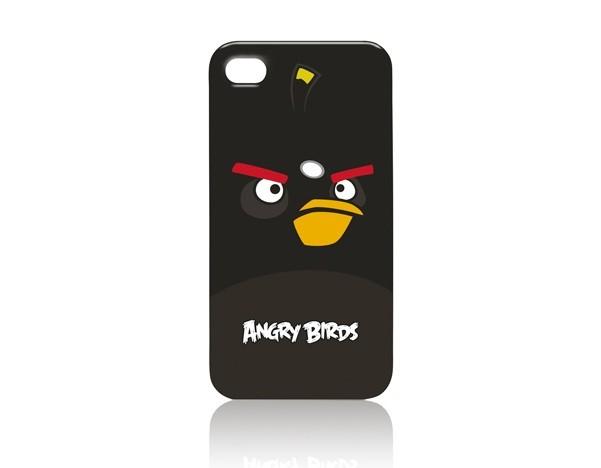 Чехол Gear4 Angry Birds ICAB404 Bomber для iPhone 4G, Black