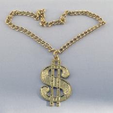 Медальон «Доллар на цепи»