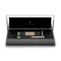Черный настольный набор с короткими карандашами №V