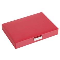 Шкатулка для драгоценностей красного цвета