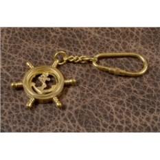 Брелок для ключей Штурвал - якорь
