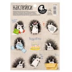 Декоративные наклейки Ёжики