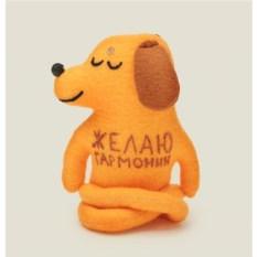 Игрушка ручной работы Собака Будда