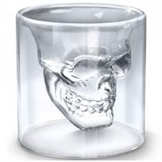 Стопка с двойным стеклом «Череп»