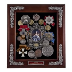 Настенная ключница Екатерина II