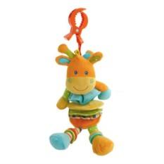 Мягкая игрушка-подвеска Жираф-растяжка