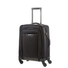 Чёрный четырёхколесный чемодан Pro-DLX 4