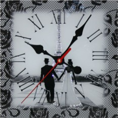 Часы с кристаллами Swarovski Свадебный Париж