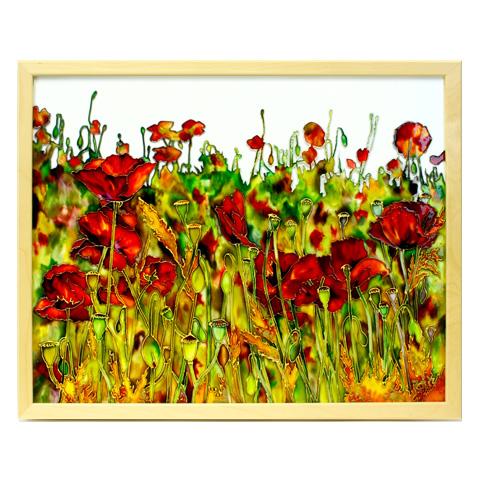 Картина «Маковое поле»