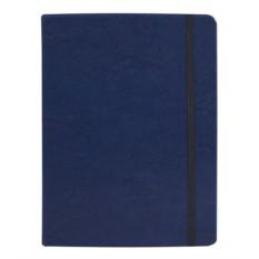 Синяя записная книжка Freenote в клетку