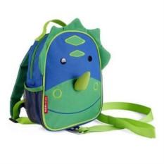 Детский мини-рюкзак с поводком Динозавр (Skip Hop)