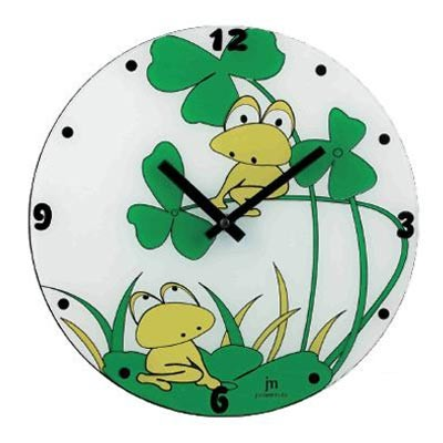 Часы настенные Лягушата