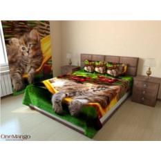 Фотопокрывало Котёнок в гамаке