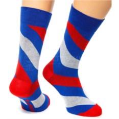 Синие носки Friday Spiral