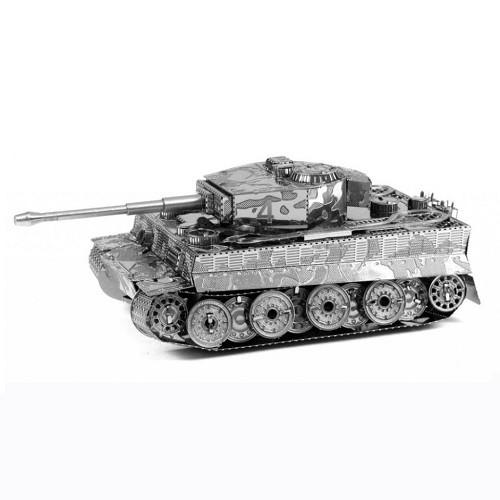 3D-пазл из металла Танк Тигр
