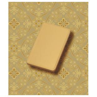 Слиток из золота «Золотая открытка»