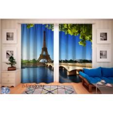 Фотошторы Эйфелева башня
