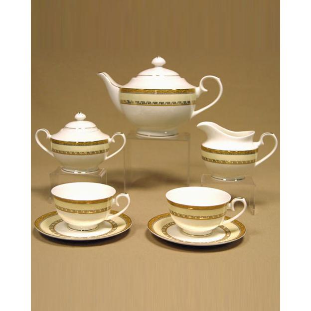 Сервиз чайный «Кремовое панто»