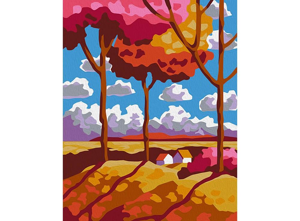 Картины по номерам «Мини пейзаж»