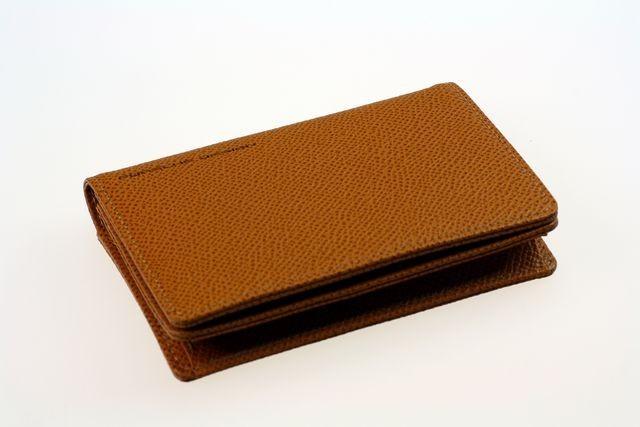 Чехол для кредитных карт Porshe Design F1J, коричневый