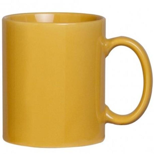 Желтая кружка Promo