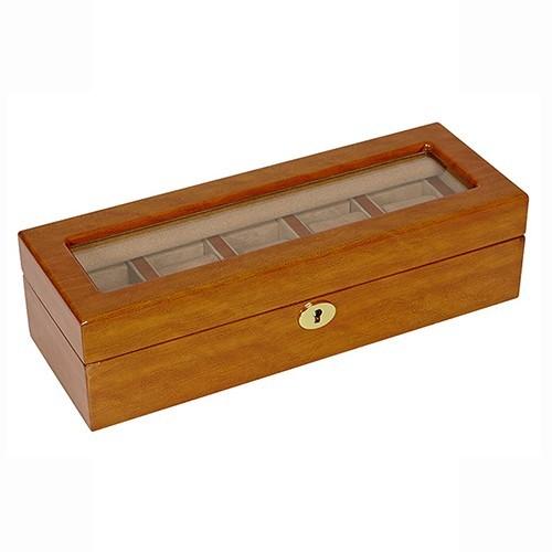 Шкатулка для хранения 5 часов и украшений AFN-WB500V5 от Aficionado