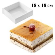 Форма для муссовых тортов Квадрат Silikomart