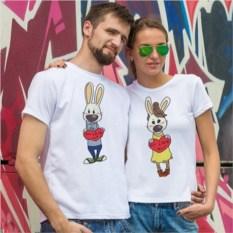 Парные футболки Милая любовь