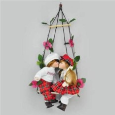 Фарфоровые парные куклы Ян и Яна фарфоровые,  14
