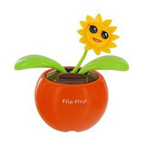 Цветок Flip Flap на солнечных батарейках
