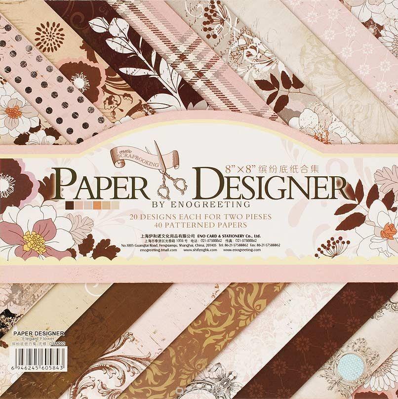 Набор бумаги для скрапбукинга Волшебная страна, 40 листов.