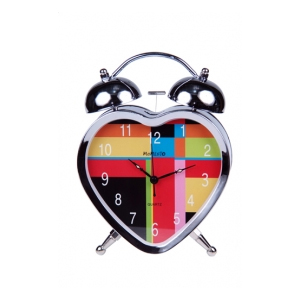 Часы настольные «Цветная любовь»