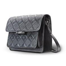 Женская сумочка «Фантазия» графитового цвета
