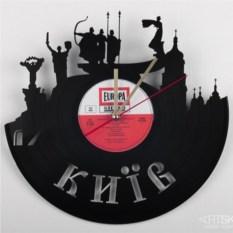 Часы из виниловой пластинки Киев