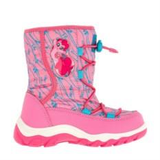 Розовые сноубутсы на шнуровке My Little Pony