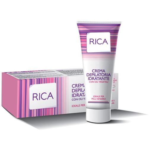 Увлажняющий депиляционный крем маслами Rica