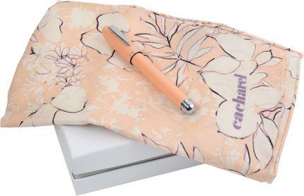 Набор Cacharel: шариковая ручка, шелковый платок
