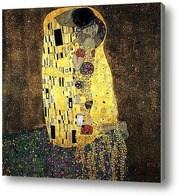 Репродукция картины Поцелуй