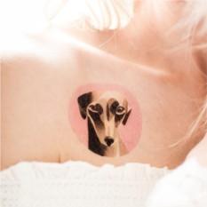 Татуировка переводная Sasha Unisex Whippet