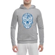 Толстовка-кенгурушка Schalke Мексиканский череп