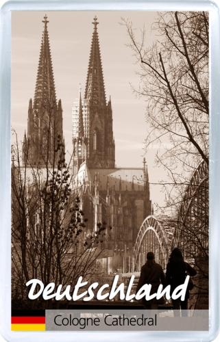 Магнит на холодильник: Германия. Кёльнский собор